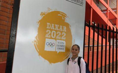 Iribarne participó del Campus Dakar YOG 2022