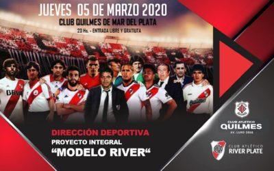 Charla de Gustavo Grossi, Director Deportivo de River