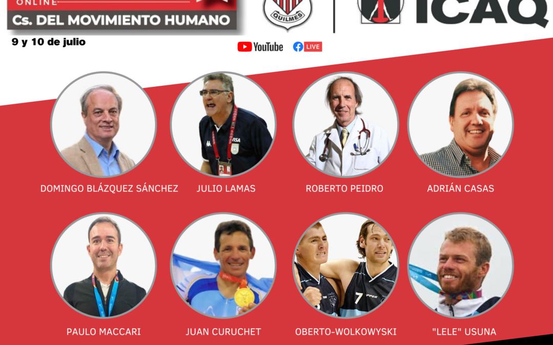 """Se viene el 1° Congreso Online """"Ciencias del Movimiento Humano"""" organizado por el ICAQ"""